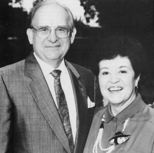 President Nelson & First Lady Wilma Grote
