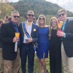 Whelan family at Homecoming
