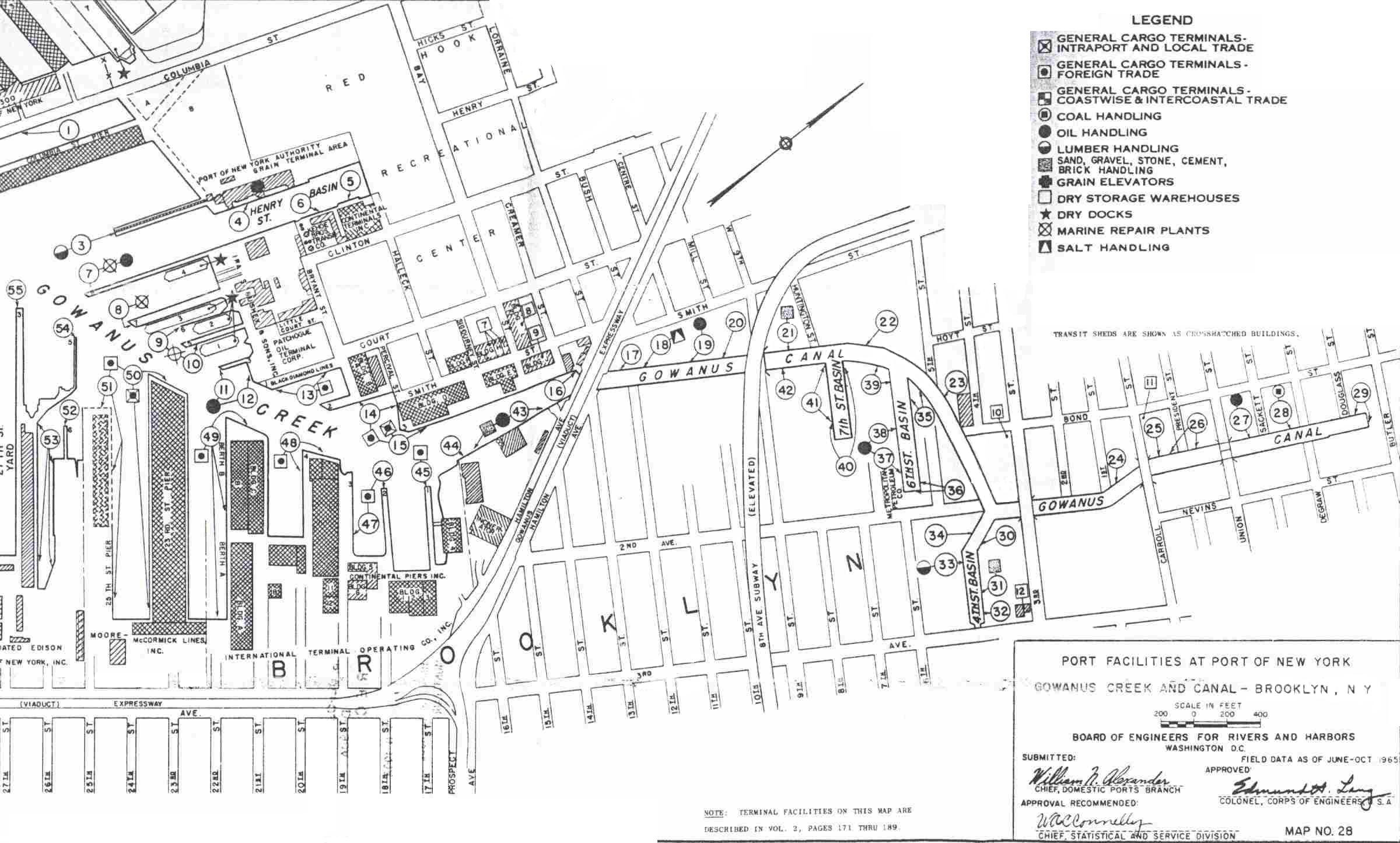 Map Of The Gowcin Courtesy Us Army Corps