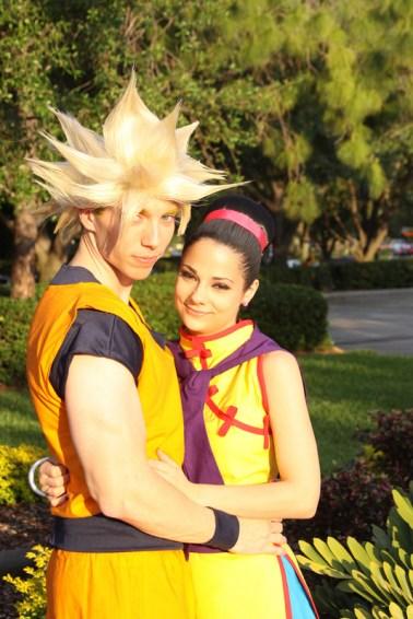 Goku und Chichi