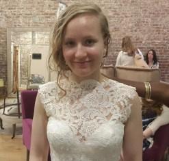 Wedding Dress Shopping Aug 2014