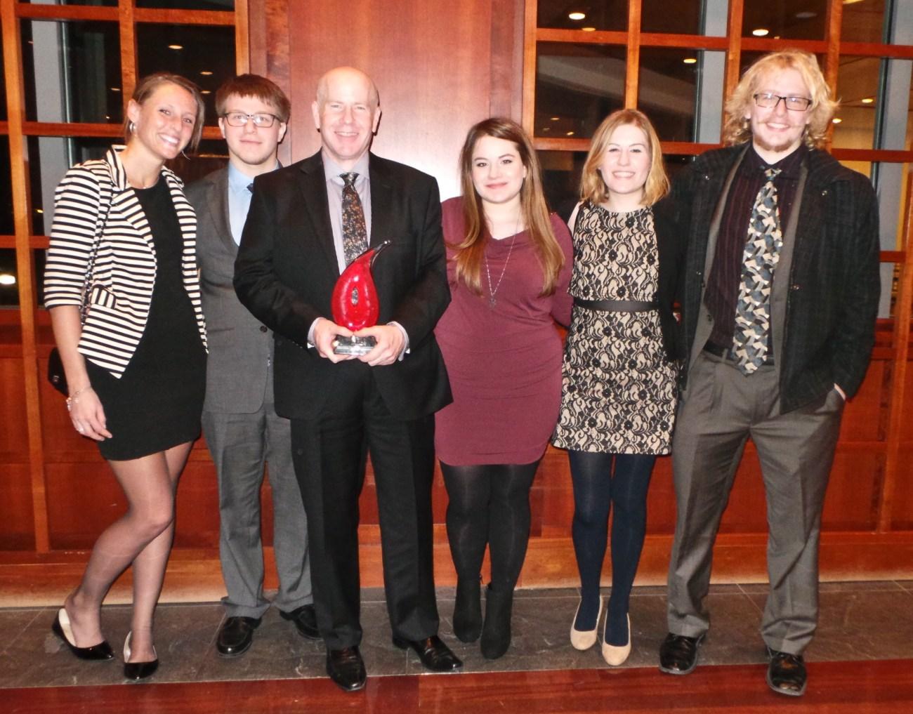 Aish Award and Family