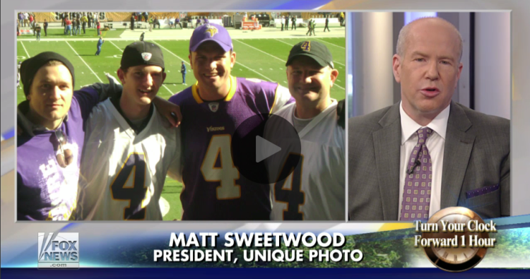 Unique Photo President, Matt Sweetwood, on Fox and Friends