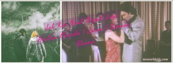 Jab Koi Baat Bigad Jaye Guitar Chords  Jurm  Kumar Shanu