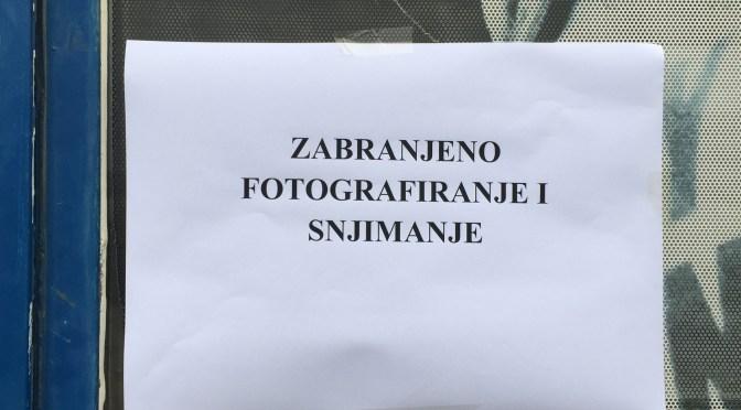 Zabranjeno fotografiranje i snjimanje – 1. kolo male mač lige MSZ