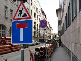 Csengery utca is lezárva
