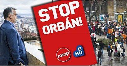2019 jelszava: Stop Orbán!