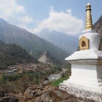 【ネパール】エベレストトレッキング1日目(ルクラ〜ベンカー)