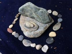 十里木の石で遊んでみる(2)