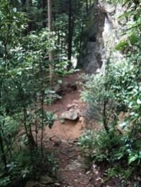朝いち天王岩