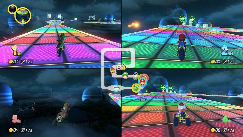 We Like Mario Kart 8 Deluxe Six Colors
