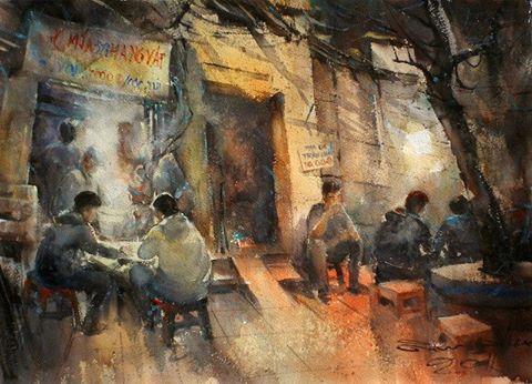 001-Street food, Vietnam.