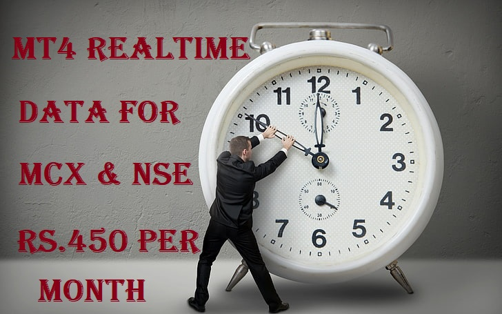 Mt4 Realtime Data For mcx and NSE