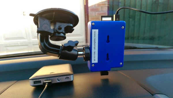 Raspberry Pi Powered Dash Cam