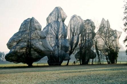 Wrapped Trees - Christo e Jeanne-Claude