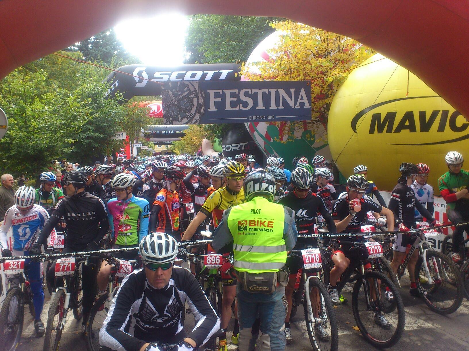 bike maraton swieradow zdroj 2013 start