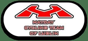 mayday lublin cycling team logo