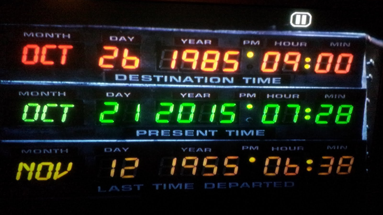 back to future real date october 21 2015
