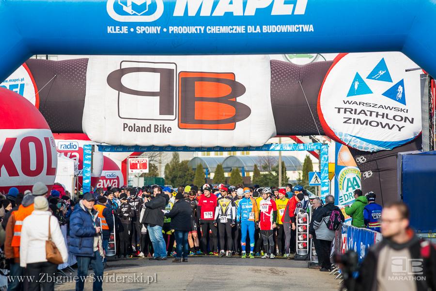 warszawski triathlon zimowy 2015 1