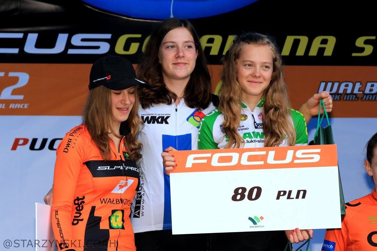 Anna Gdańska (Warszawski Klub Kolarski) – FOCUS Górale Na Start PP XCO C2, Wałbrzych