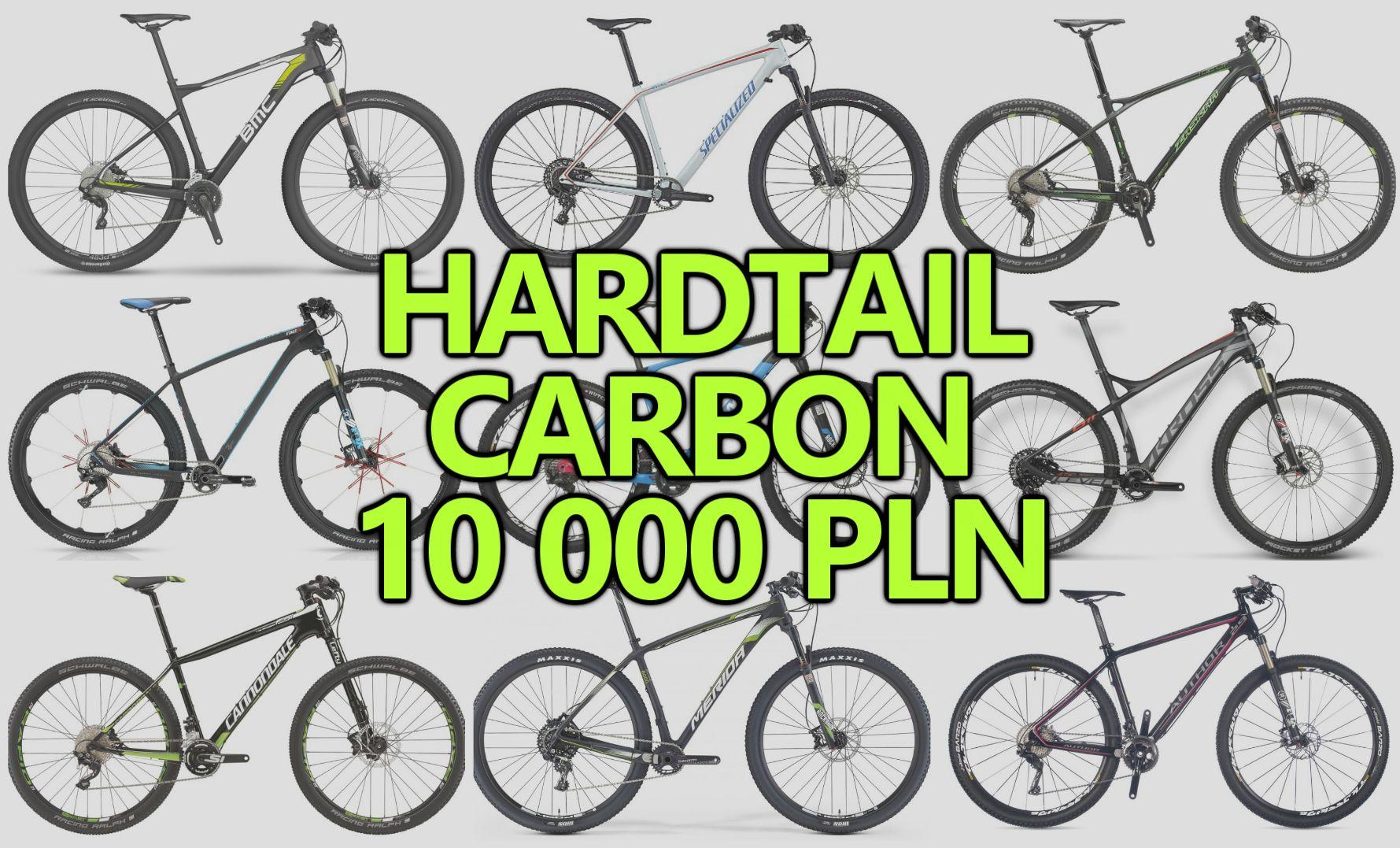 Karbonowy rower górski HT za 10 tysięcy [2016]