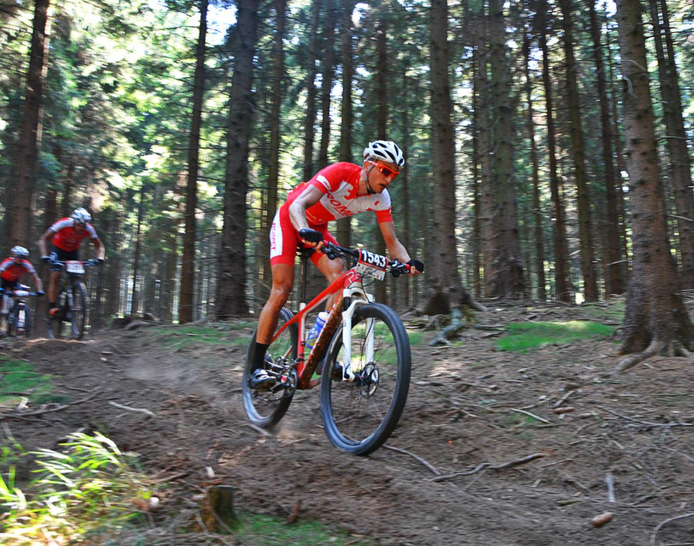 Bartosz Janowski (Romet MTB Team) Mistrzostwa Polski w Maratonie MTB, Jelenia Góra