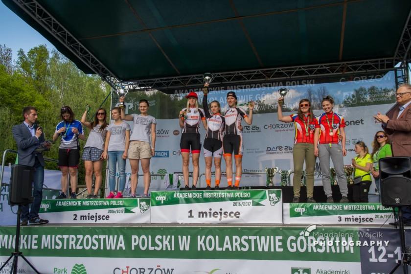 Akademickie Mistrzostwa Polski MTB 2017: Piotr Konwa i Paula Gorycka zwyciężają