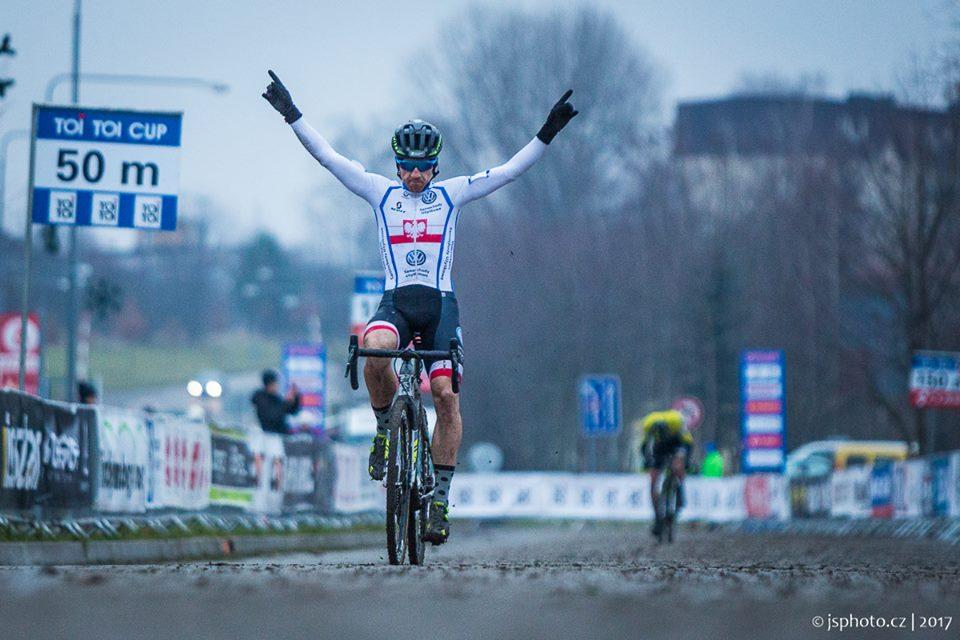 Marek Konwa zwycięża w Pucharze Czech (UCI C2)