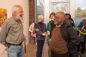 """Opening of the """"Flowers, Flores, Ubaxa"""" exhibition at the Mount Baker Neighborhood Center for the Arts."""