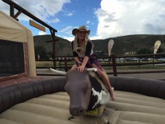 Bull Riding at the Beaver Creek Rodeo