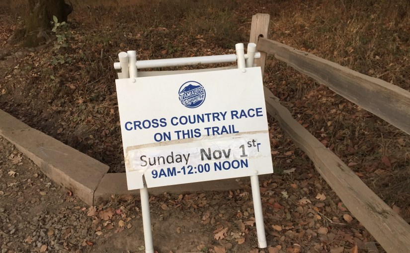 China Camp Cross Country Race 9am-12pm Nov 1st