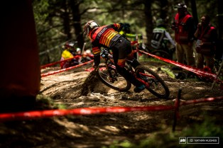 The Spaniard on a Saracen, Alex Marin, had some big support so close to home here in Andorra and it spurred him onto a personal best 8th place.