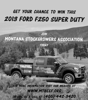 Join Montana Stockgrowers Ford Truck Giveaway