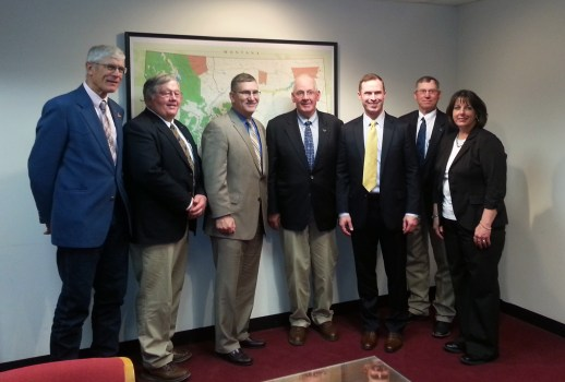 Montana Stockgrowers Leadership Meeting Senator John Walsh Washington D.C.