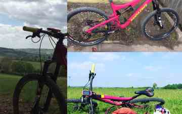 Santa Cruz Broson All Mountain Bike