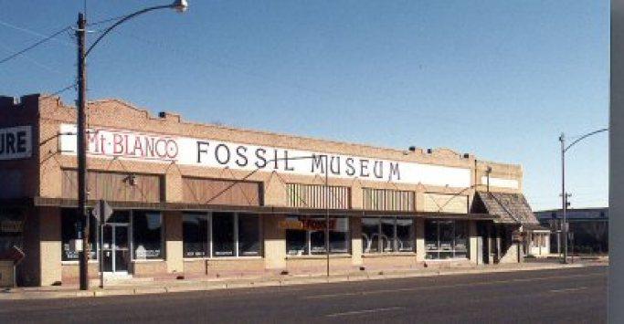 Resultado de imagen para MT BLANCO FOSSIL MUSEUM