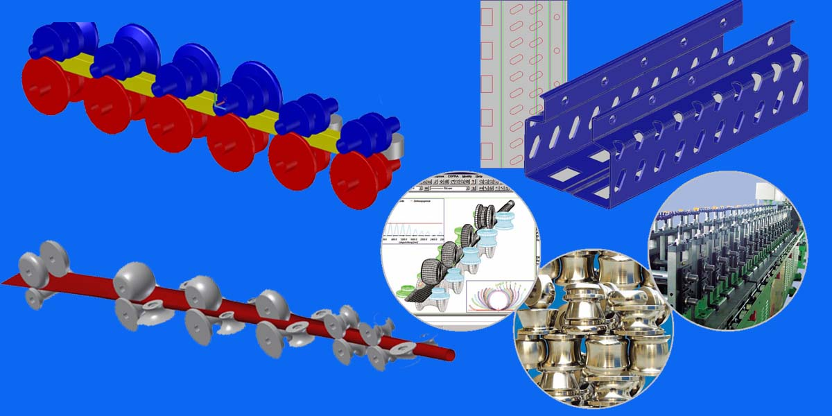 roll forming machine designing software