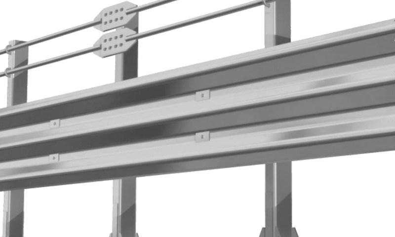w beam guardrail roll forming machine