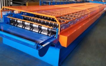 g550 trapzoidal ورقة لفة تشكيل آلة