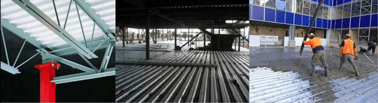 steel floor decking