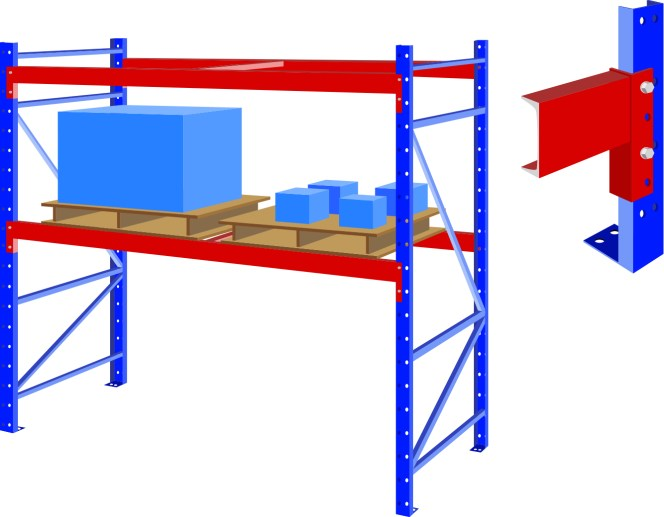 roll forming application for storage racks industry