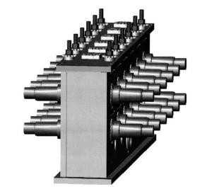 Rafter design roll forming machine