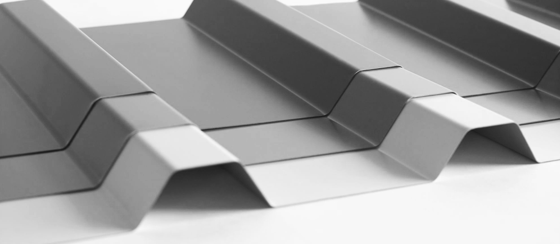 trapezoidal roofing sheet
