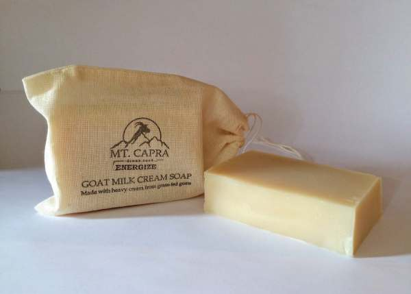 Energize Goat Milk Heavy Cream Soap