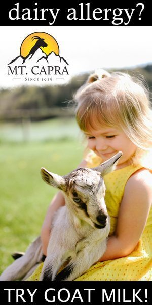 Dairy Allergy? Try Goat Milk?