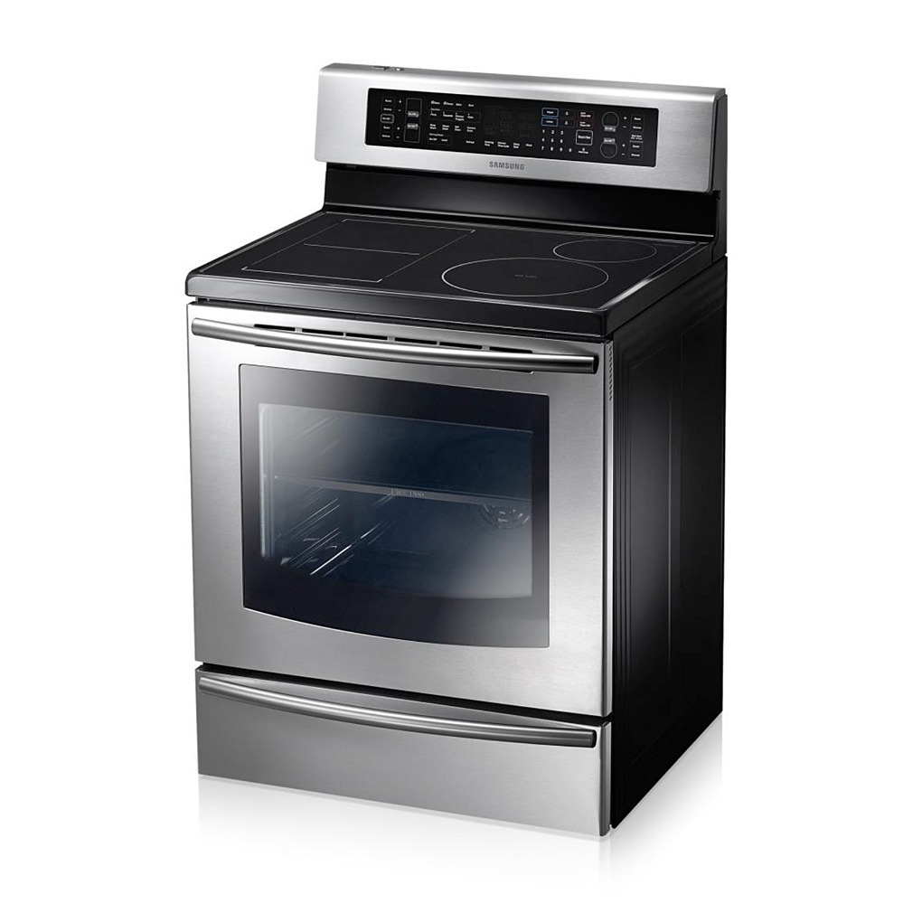 Samsung 5.9 cu.ft Freestanding Induction FlexDuo Range NE599N1PB