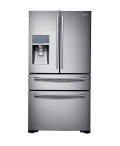 Samsung 23.6 cu.ft. 4-Door French Door Refrigerator Stainless RF24FSEDBSR