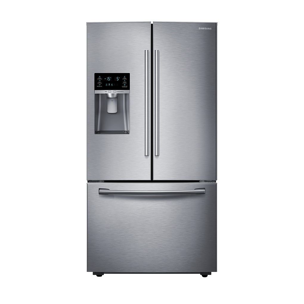 Samsung 28 cu.ft. 3-Door French Door Refrigerator SS RF28HFEDBSR