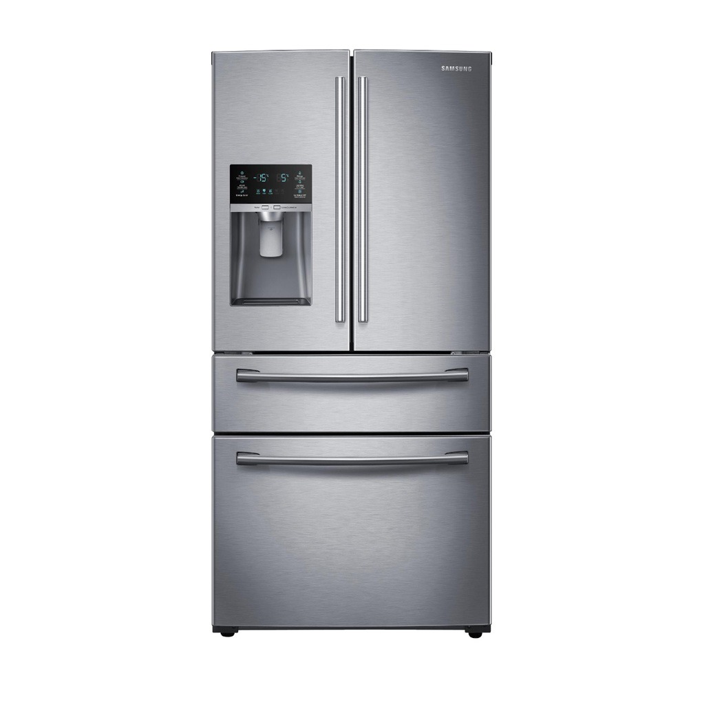 Samsung 28 cu.ft. 4-Door French Door Refrigerator SS RF28HMEDBSR