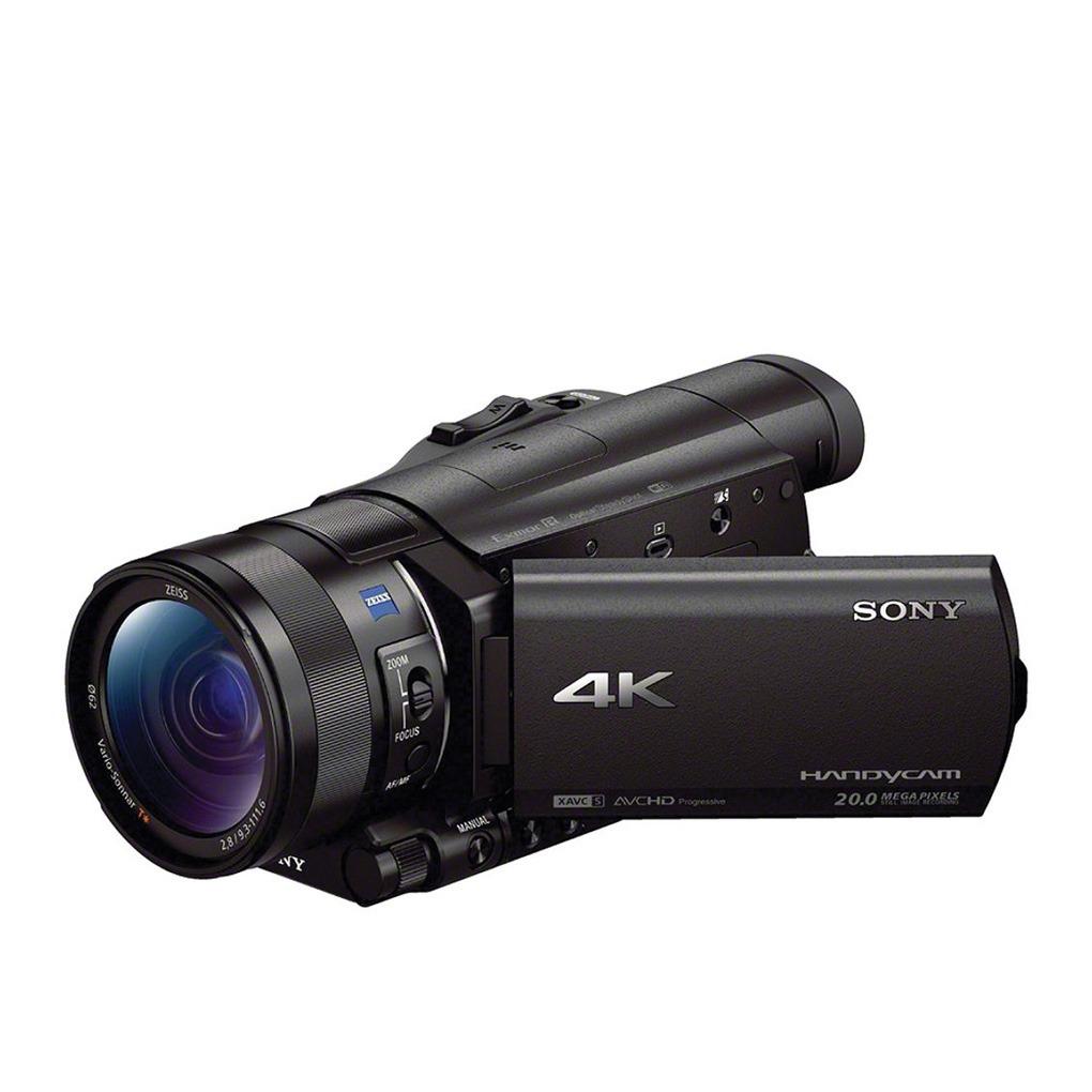 Sony Handycam FDR-AX100B 4K Flash Memory Camcorder